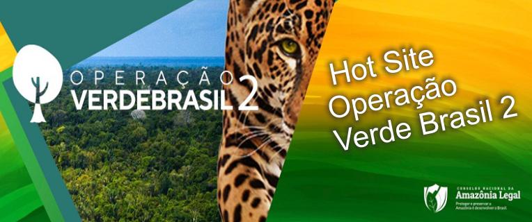 Hot Site - Operação Verde Brasil 2